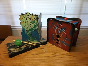Dragon Tray and Chest